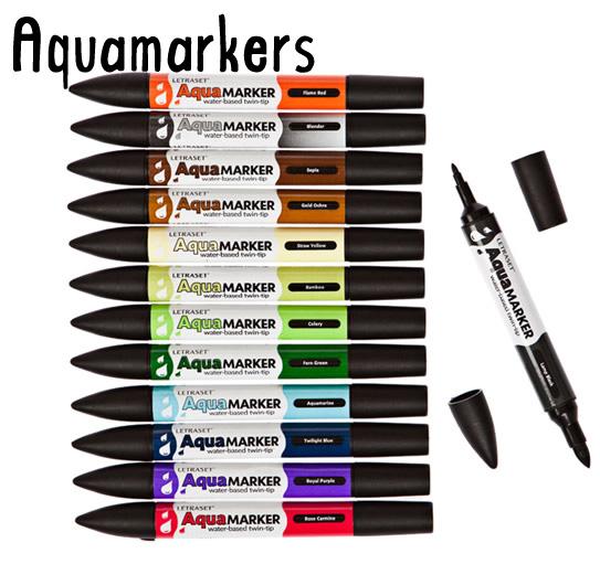 11-aquamarkers